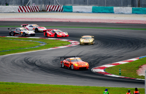 Navigating the 'S', Super GT, Sepang, 2008