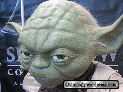 yoda close-up
