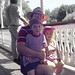 Scott Laura Jerry tired at Disneyland-35neg-about June 29 1992-615
