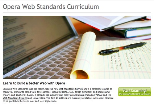 The Web Standards Curriculum