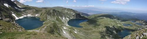 6 out of 7 Rila lakes