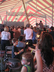 The Jesus for President big tent revival