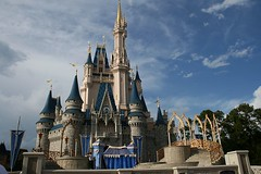taken right before a show (D K Brower Photography) Tags: travel family vacation castle florida dreams cinderella wdw waltdisneyworld 08 cinderellascastle
