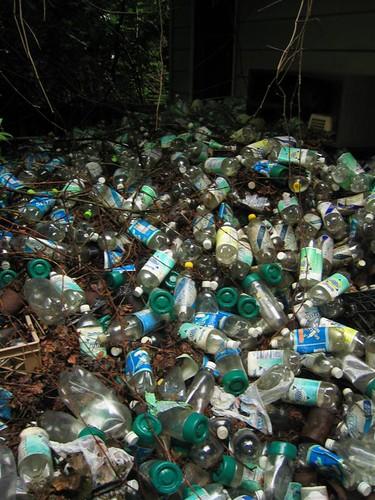 Seltzer bottle graveyard