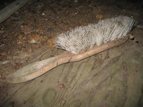 Abandoned brush admist a mess