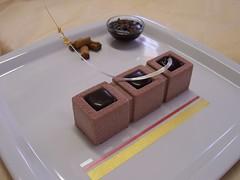 Trittico al cioccolato San Tomè, cannella e pepe tasmanie