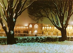 Winter night in Isfahan (IranMap) Tags: winter night iran isfahan irannature iranphoto iranmap iranmapcom