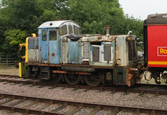 07 005 Unresotored on the GCR (Amys-pics) Tags: england diesel great central class steam 07 loughborough shunter railwaygcr
