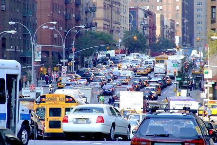 NY traffic jam