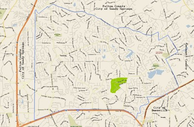 Dekalb County Property Parcel Map