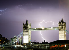 Lightning over Tower Bridge (.craig) Tags: road lighting city uk bridge blue light england urban cloud storm london rain electric thames night clouds towerbridge londonbridge river lite photography flash photographic southbank crack craig lightning lightening canarywharf riverthames soe thunder thunderclouds cityoflondon lighning electricalstorm electricstorm blueribbonwinner supershot craigallen golddragon londonstorm goldstaraward damniwishidtakenthat anabadili thetowerofpriapus photoartbloggroup flashoflightening leighening crackofthunder