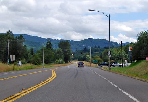 US 12 @ SR 122 east terminus