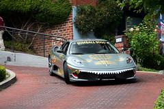 Ferrari 430 Scuderia (erdero) Tags: auto sanfrancisco street car kid automobile san francisco mr rally ferrari 2008 3000 scuderia gumball lombard f