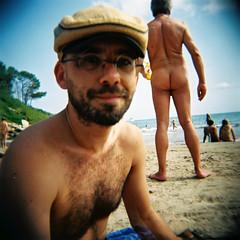 Nude beach - by AsaPeka