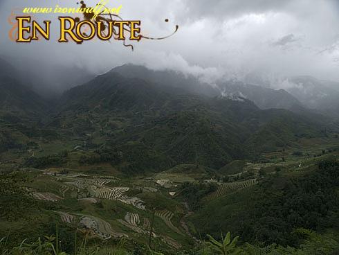 Sapa Mountains and Rice Terraces