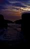 """""""al filo del abismo estuve.."""" (Yai Coronado) Tags: atardecer playa galicia galiza acantilado ribadeo playadelascatedrales"""