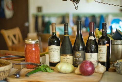 Wine spread by wickenden, on Flickr