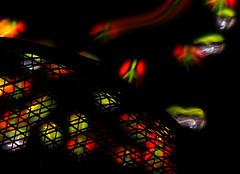 Symbolism 2: Jail Break (binaryCoco) Tags: lightpainting rainbow led torch regenbogen taschenlampe symbolism windowcolor pocketlamp leuchtdiode fensterfarbe symblismus