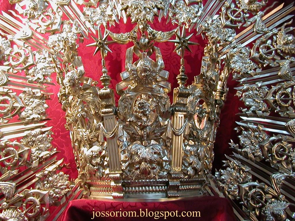Corona de Nuestra Señora del Carmen.