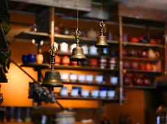 Tao of Tea (majikcamera) Tags: bells cups teashop