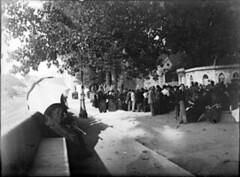 A la grotte, Lourdes, 23 août 1898, by bibliothequedetoulouse