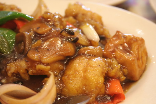 Fish fillet with Tofu in Taosi Sauce at Savory Chicken