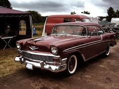 Chevrolet Bel Air (ifa.zweitakt) Tags: auto old classic cars car paradise voiture vehicle oldtimer 2008 roadrunner youngtimer roadrunners klassiker finowfurt race61 ifazweitakt