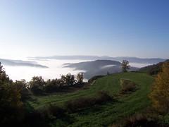 Vista cap a Sant Julià Sassorba