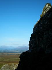 Ben Lomond from the Whangie (jaggystu71) Tags: blue sky scotland rocks lochlomond whangie carbeth queensview unature