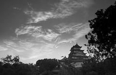 2008-07 Himeji 011 (blogmulo) Tags: travel bw white black castle blanco japan ar negro medieval viajes age himeji middle 2008 japon castillo japn aplusphoto blogmulo