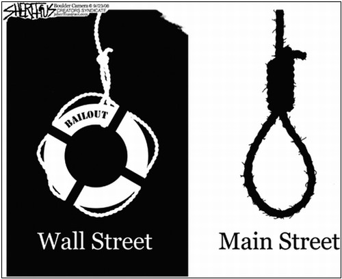 Wall Street Bailout and the Real Economy