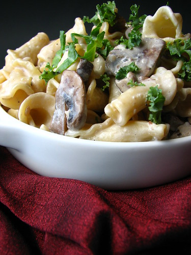 Smoked Garlic and Mushroom Sauce I
