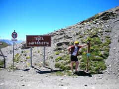 DSCN0247 (Hannibal Cycle tours / Belvedere B&B) Tags: italy holiday cycling italia mountainbike crosscountry fenestrelle valchisonemountainbike colledellefinestra alpinebiking