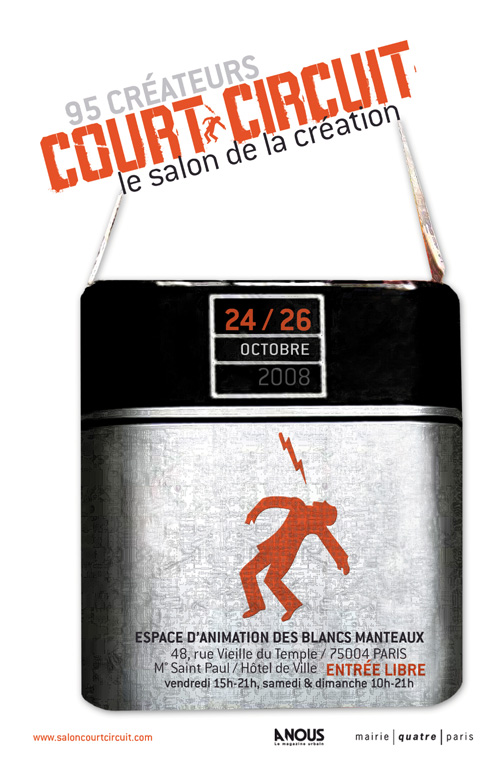 Flyer Court-Circuit, octobre 2008