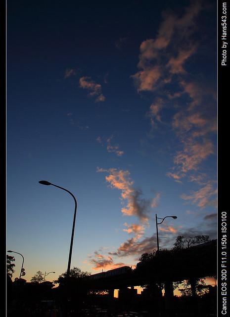 動物園外的天空_The sky ouside Taipei zoo_11