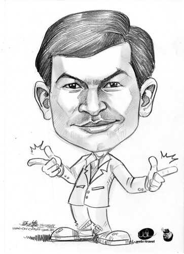 Caricatures Web in Travel 2008 Phanindra
