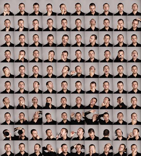 Thumb 100 autorretratos con gestos diferentes, vaya egocentrismo