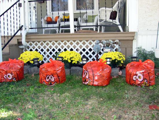 Pumpkin Bags (Click to enlarge)