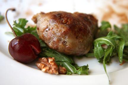 Savoy Sausage Appetizer web