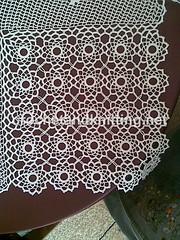 Crocheted Free Pattern Runner Table