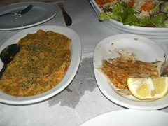 fava pantremeni and smoked bakaliaros cod