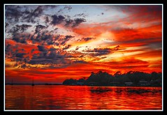 River of Fire (Saildog Photography) Tags: sunset red florida jacksonville fl 1001nights jax reflexions hdr stjohnsriver northflorida atlanticcoast fiatlux mywinners abigfave colorphotoaward skycloudssun northeastflorida saildog dragondaggerphoto mirrorser