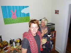 cas+bex. (stephiblu) Tags: november autumn party guests fun nj montclair 2008 autumnball autumnball2008 tichenortichenors