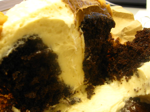 Inside Baba Booey Cupcake