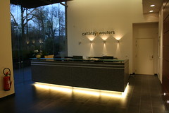 Reception desk (jepoirrier) Tags: office desk lobby reception cw wouters tervueren callata