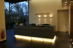 Reception desk (jepoirrier) Tags: office desk lobby reception cw wouters tervueren callataÿ