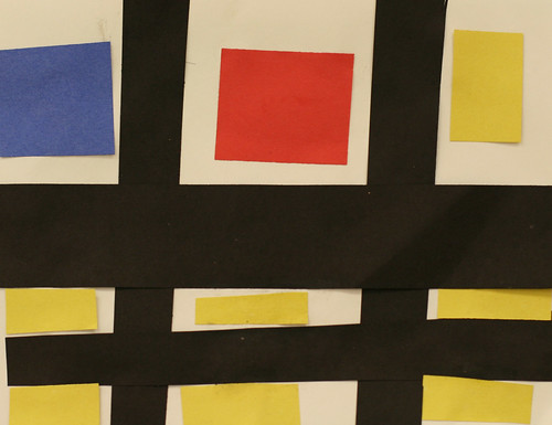 Jeffery's primary colored rectangles and squares