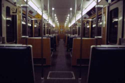 Empty UBahn to Nowhere
