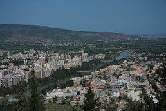 Silifke from Silifke Castle (CTPPIX.com) Tags: city trip travel vacation canon turkey river basilica turkiye journey silifke turkei 40d icel ctpehlivan ctppix