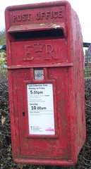 postbox (Martha-Ann48) Tags: red mailbox postcode postbox letterbox royalmail elizabeth2 yo25